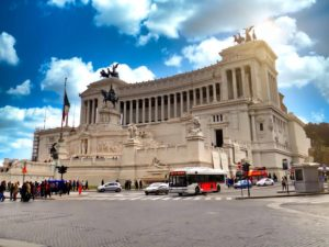 Monumento a Vittorio Emanuele II en la Plaza Venecia