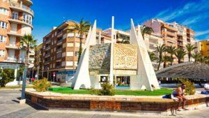 Monumento a las Habaneras, declaradas de Interés Turístico Internacional