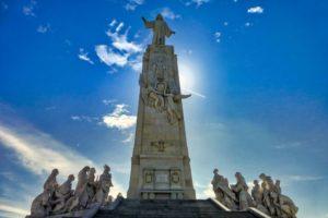 Monumento al Sagrado Corazón de Jesús en el Cerro de los Ángeles
