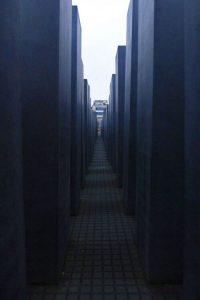 Estelas del Monumento a los judíos en Berlín