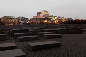 Monumento a los judíos asesinados de Europa, uno de los monumentos más visitados de Berlín