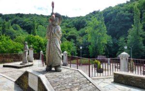 Monumento al Peregrino en Samos