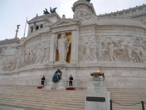 Monumento al Soldado Desconocido en la Plaza Venecia