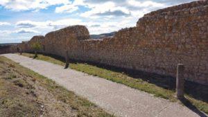 Restos de la muralla de Atienza