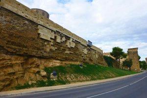 Muralla de Huesca construida durante el período de dominación musulmana