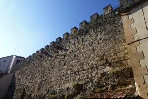 Restos de la antigua muralla de Sepúlveda