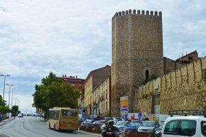 Torre de la Muralla de Teruel junto al Portal de San Miguel