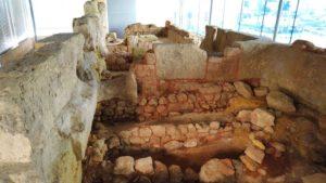 Restos de la Muralla Púnica de Cartagena