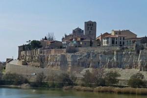Murallas de Zamora rodeando el casco histórico de la ciudad