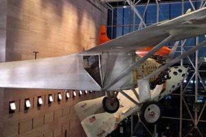 Spirit of St. Louis en el Museo Nacional del Aire y el Espacio