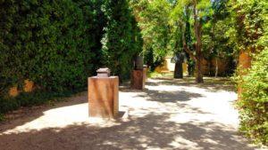 Museo Abierto de Escultura Contemporánea en los jardines del ayuntamiento