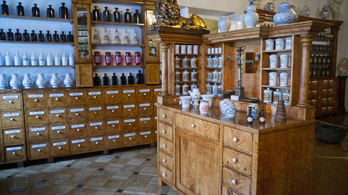 Farmacia del Águila, sede del Museo de Historia de Cracovia
