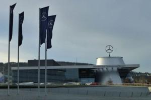 Sede de la marca Daimler en Stuttgart