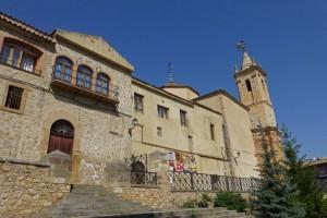 Museo Comarcal de Molina de Aragón, ubicado en el Convento de San Francisco
