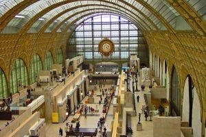 Museo de Orsay, alberga la mayor colección de obras impresionistas del mundo