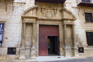 Entrada al Museo Provincial de Terual