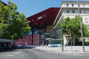 Edificio Nouvel, una de las sedes del Museo Reina Sofía