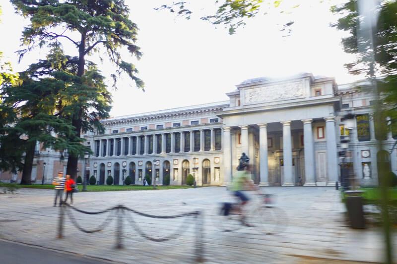 Edificio Villanueva, el más importante del complejo del Museo del Prado