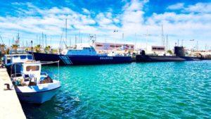 Museos Flotantes de Torrevieja: Patrullero y Submarino