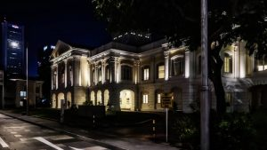 Casa de las Artes en el Antiguo Parlamento de Singapur