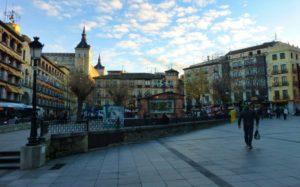 Plaza de Zocodover en Navidad