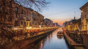 Naviglio Grande de Milán
