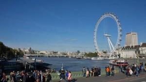 Noria London Eye, uno de los mejores miradores de Londres