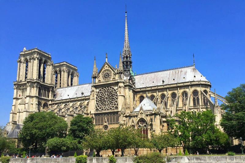 Catedral de Notre Dame, el santuario católico más importante de París