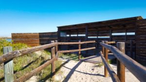 Observatorio de aves junto a la Charca del Coterillo