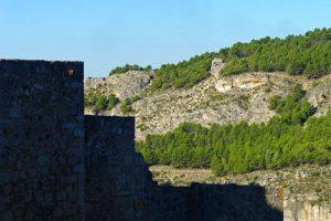 Los Ojos de la Mora vigilando el Castillo de Cuenca