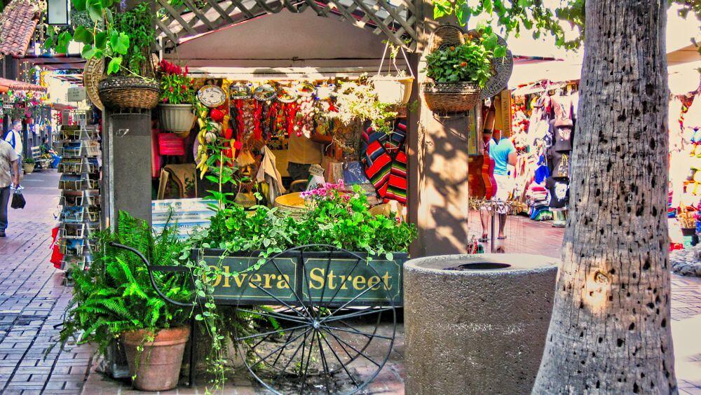 Olvera Street, punto de inicio de la historia de Los Ángeles