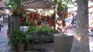 Olvera Street en el Pueblo de Los Ángeles
