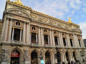 Ópera Garnier, uno de los edificios civiles más bellos de París
