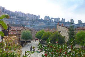 Conjunto arquitectónico de Orbaneja del Castillo en el cañón del río Ebro