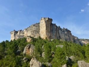Formaciones rocosas que marcan la orografía del Parque Natural del Alto Tajo
