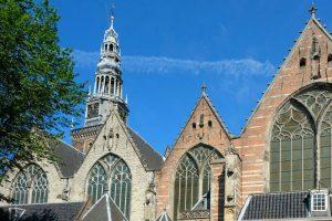 Oude Kerk o Iglesia Vieja de Ámsterdam