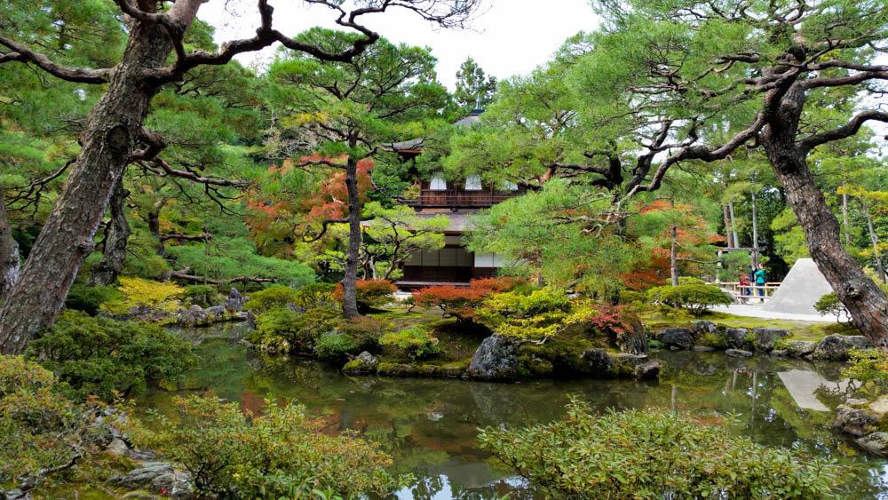 Ginkaku-ji o Pabellón de Plata de Kioto