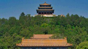 Pabellón Wanchun en el Parque Jingshan