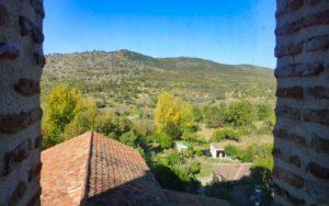 Vistas de la Sierra del Rincón desde la iglesia