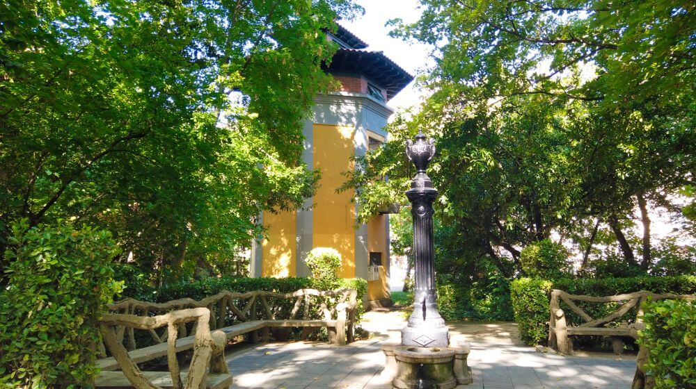 Palomar, una de las tres pajareras del Campo Grande