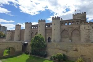 Palacio de Aljafería de Zaragoza, antigua residencia del rey de la taifa de Saraqusta