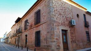 Palacio de Buenanoche en pleno casco histórico