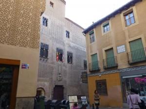 Palacio del Conde Alpuente, Palacio de Cascales o Palacio de Aspiroz, edificios civiles de Segovia