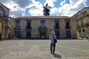 Palacio de los Condes de Casa Bayona en la Plaza de la Catedral de La Habana