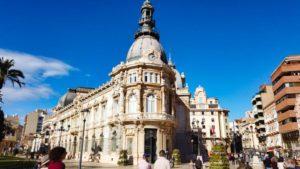 Palacio Consistorial de Cartagena, joya del modernismo