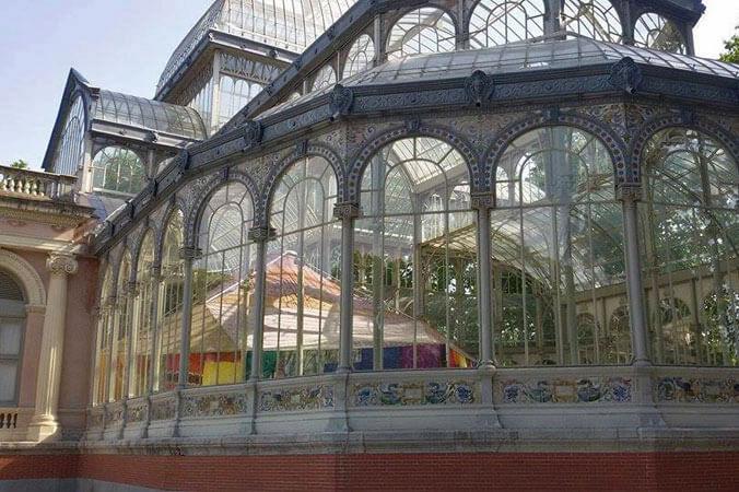 Palacio de Cristal, una de las sedes del Museo Reina Sofía