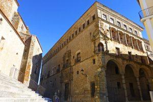 Palacio de los Duques de San Carlos, uno de los más bellos de Trujillo