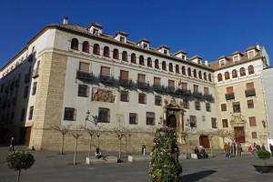 Palacio Episcopal de Jaén, ubicado frente a la Catedral de la Asunción