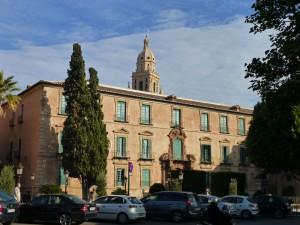Fachada trasera del Palacio Episcopal de Murcia