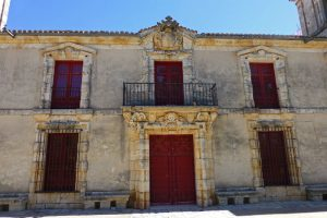 Fachada del Palacio de Goyeneche, principal edificio civil de Nuevo Baztán
